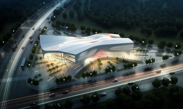 福建光泽体育馆